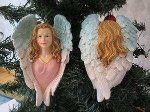 02-036 Heavenly Angel Christmas Tree Ornament