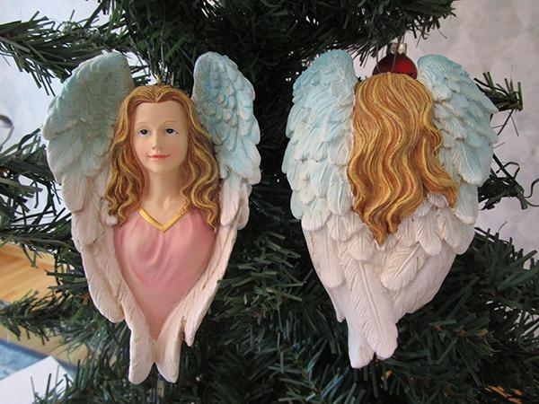 02 036 heavenly angel christmas tree ornament - Angel Christmas Tree Ornaments