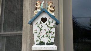Angel Cherub Birdhouse