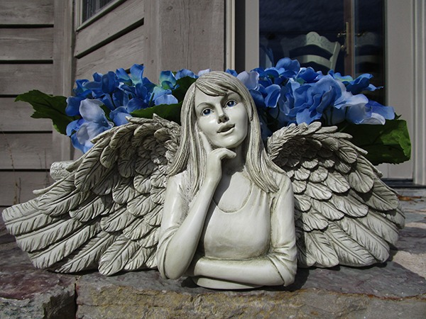 Angel Planter On Sale At Wing And A Prayer Shop Now And Save
