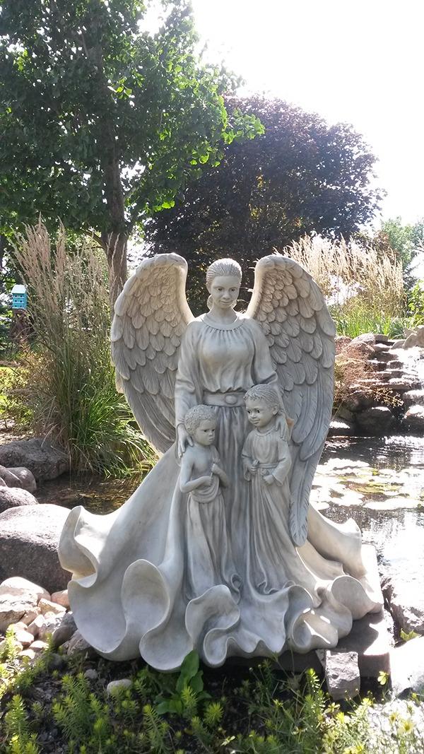 Large Angel Garden Statues Garden Inspiration