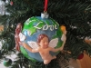 "02-024 ""Love is Colorblind"" Christmas Tree Ornament"