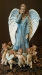 99-02026 Ring around the angel figurine